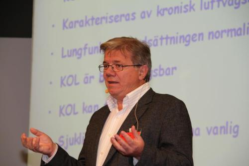 Kjell Larsson, professor i lungmedicin, Karolinska Institutet