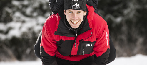 Världens snabbaste skidåkare, Emil Jönsson, ger dig träningstips